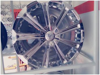Roda Aro 20 - 5x100 -114 - Semi Nova R$3.700,00