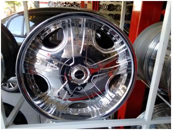 Roda Aro 20 - 6x139 - Nova R$5.000,00