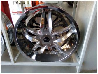Roda Aro 22 - 5x100x114 - Usada R$4.500,00