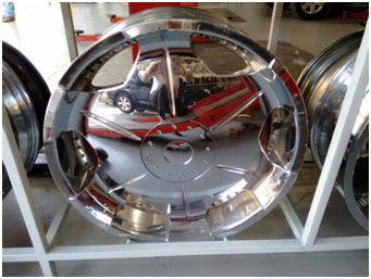 Roda Aro 22 - 5x11x114 - Usada R$4.500,00